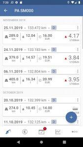 Spritmonitor - car consumption tracking
